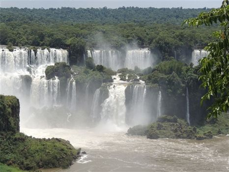 Foz do Iguacu - an impressive drop
