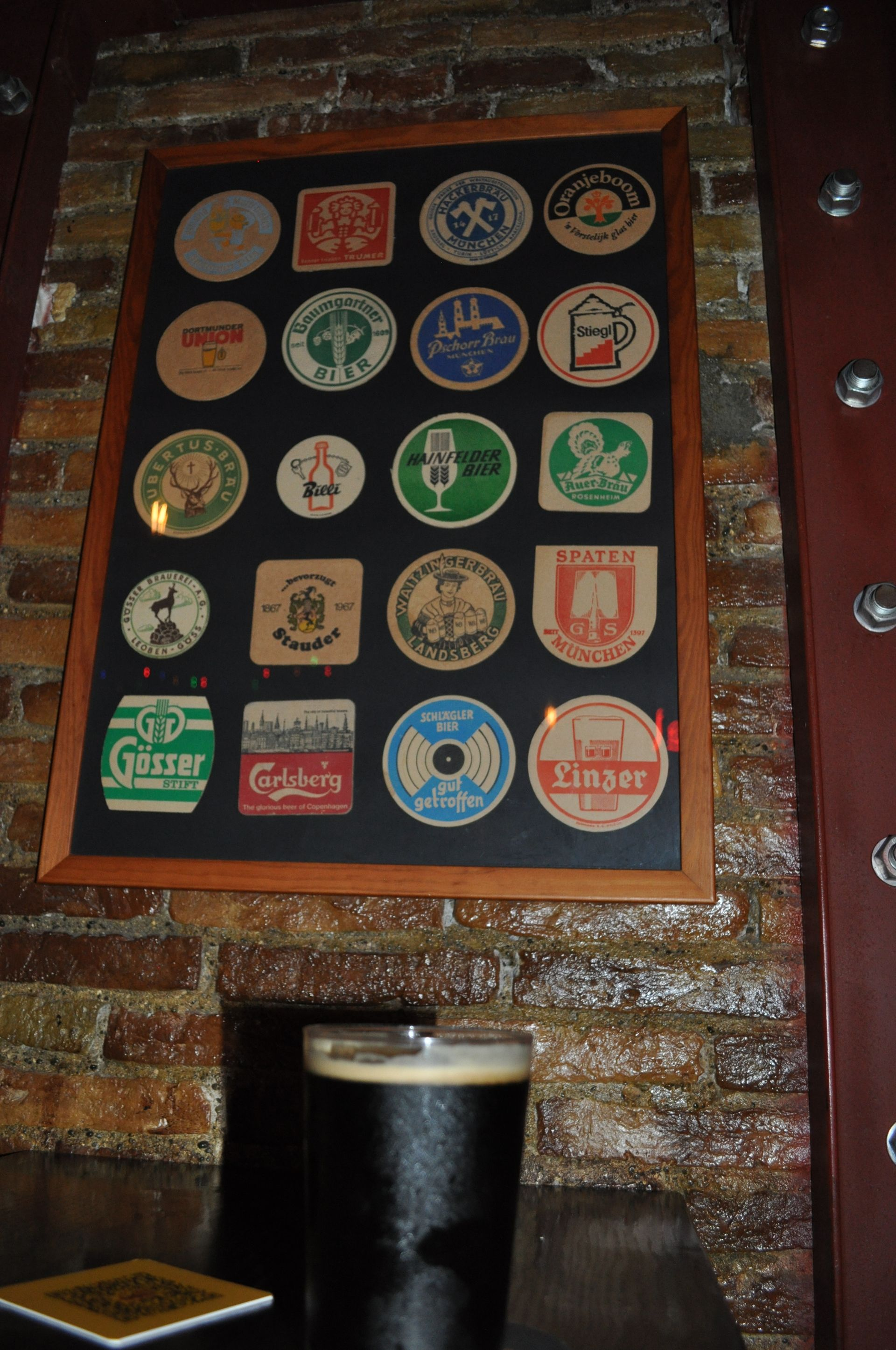 Our special collection of beer mats