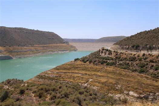 Kouris Dam from Alassa side