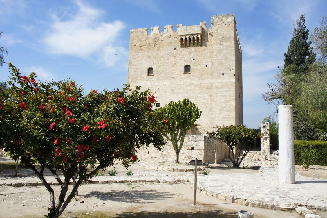 Kolossi Castle near Limassol in Cyprus