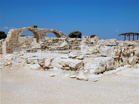 Kourion arches site