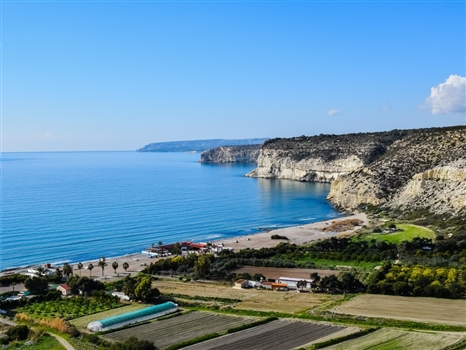 Kourion Beach view
