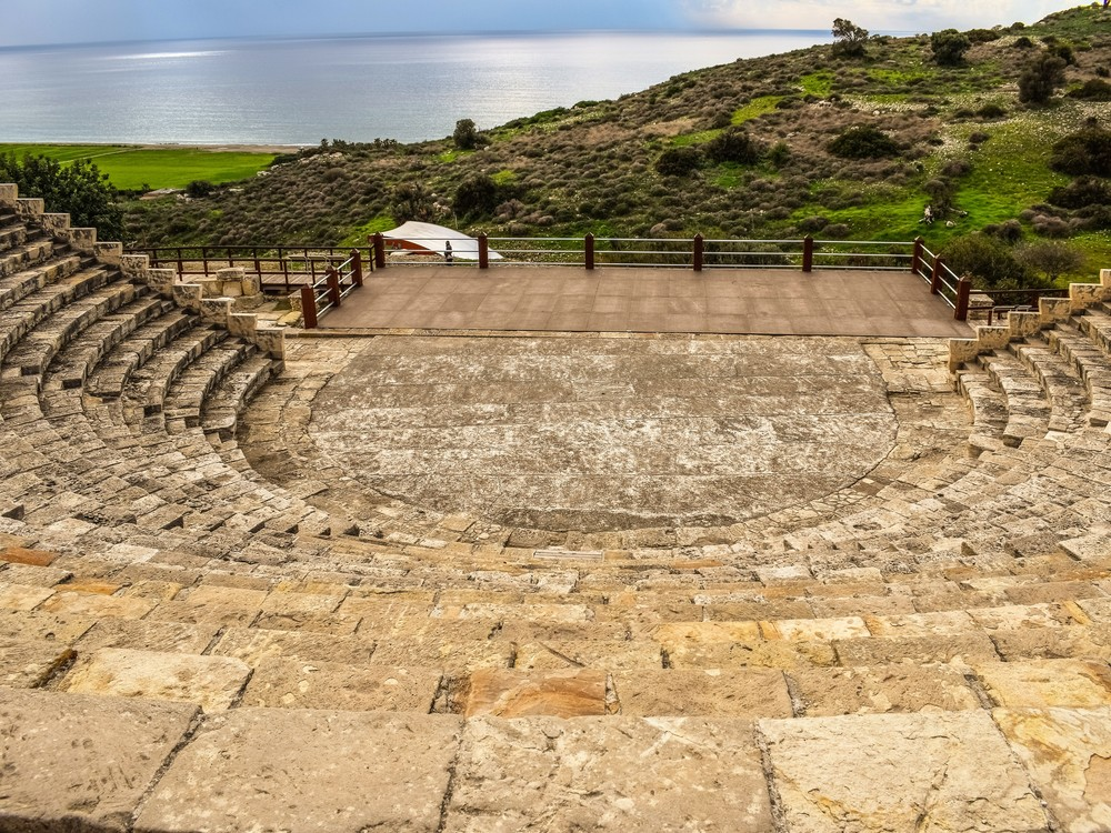 kourion theatre seaview