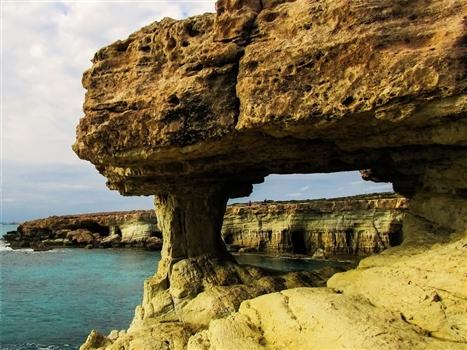 Cape greco cave