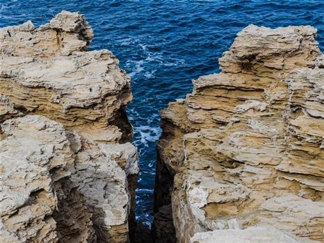 Cape greco cliffs