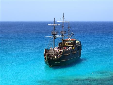 cape greco pirate ship