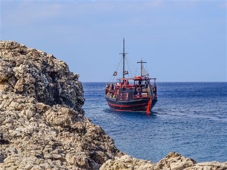 cape greco pirate ship2