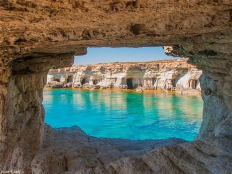 Sea caves - see through