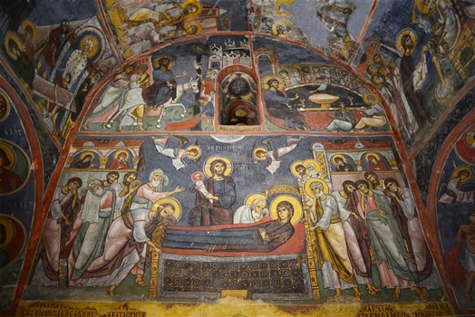 Dormition of the Virgin, early 12th century AD