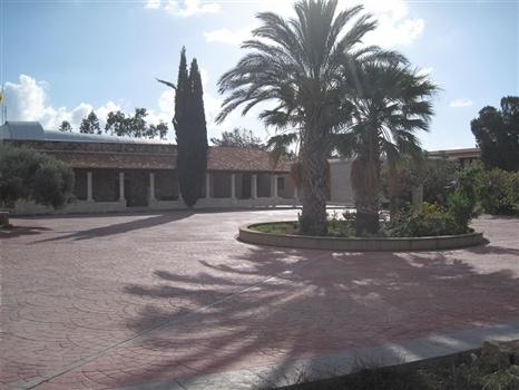 St Nicholas Cat Monastery - Courtyard
