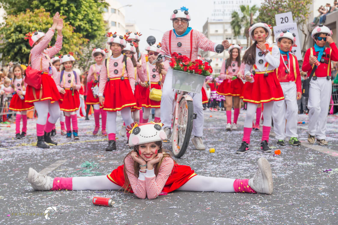 Limassol Carnival - The clowns