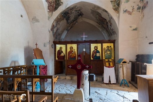 The altar of the Timou Monastry