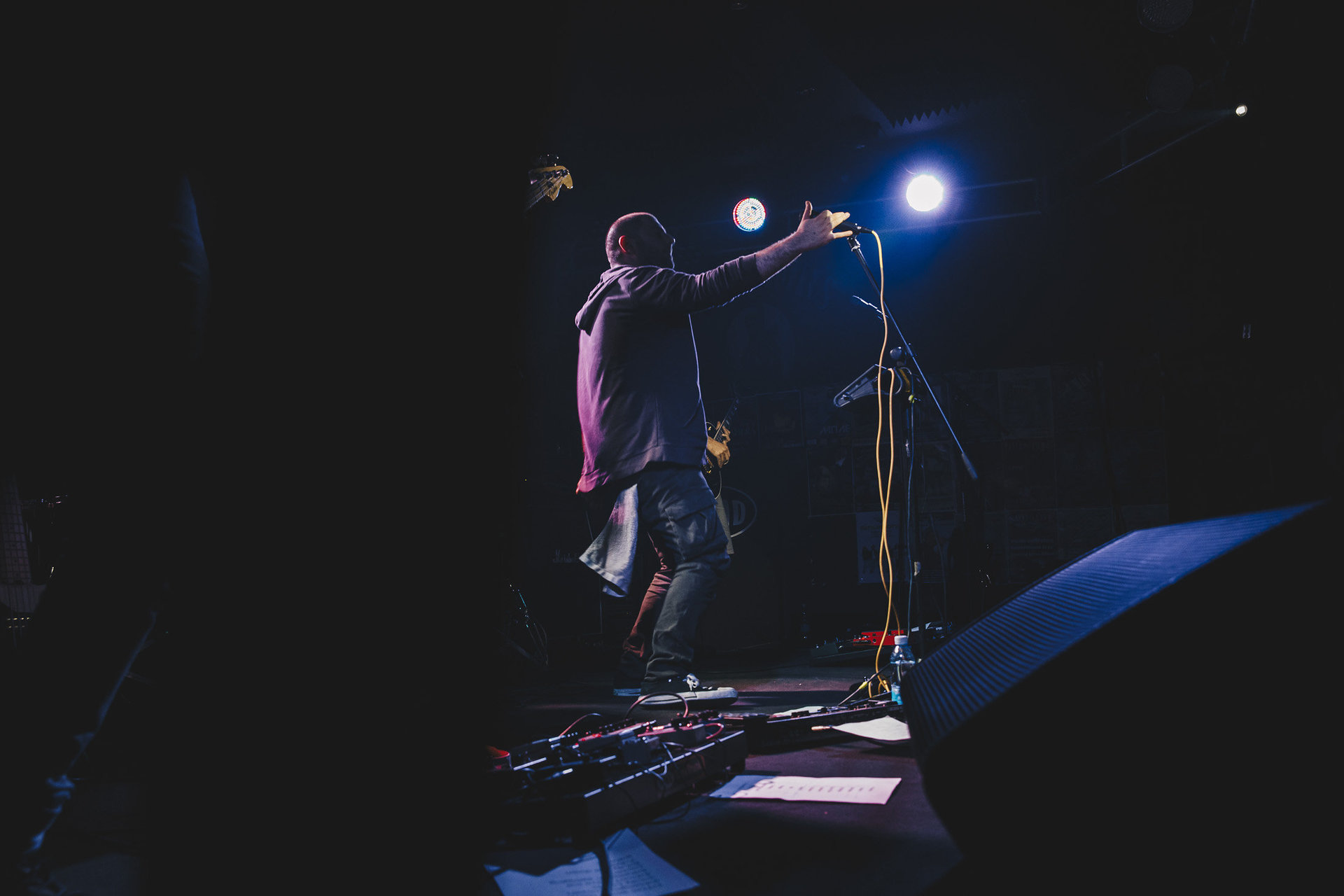 Abettor playing live