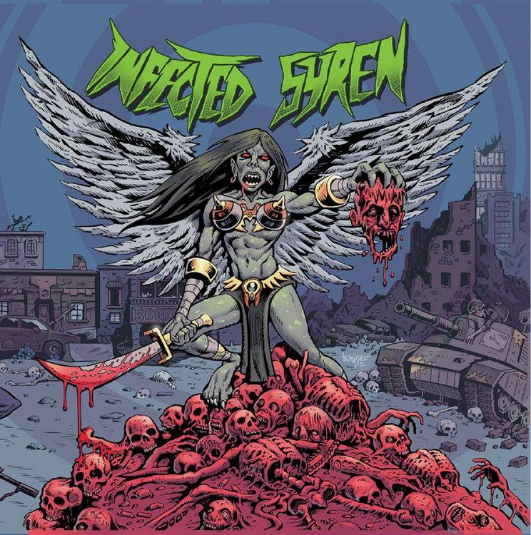 Album cover - Infected Syren