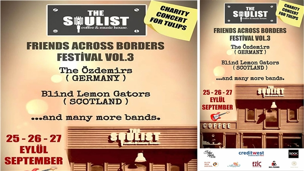 Friends Across Borders - POSTPONED TO 2021 - 26 Sep