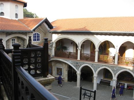 Kykkos Monastery yard