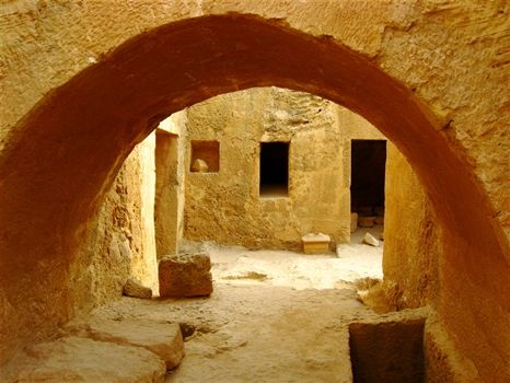 The Tomb of the Kings - Paphos, Cyprus
