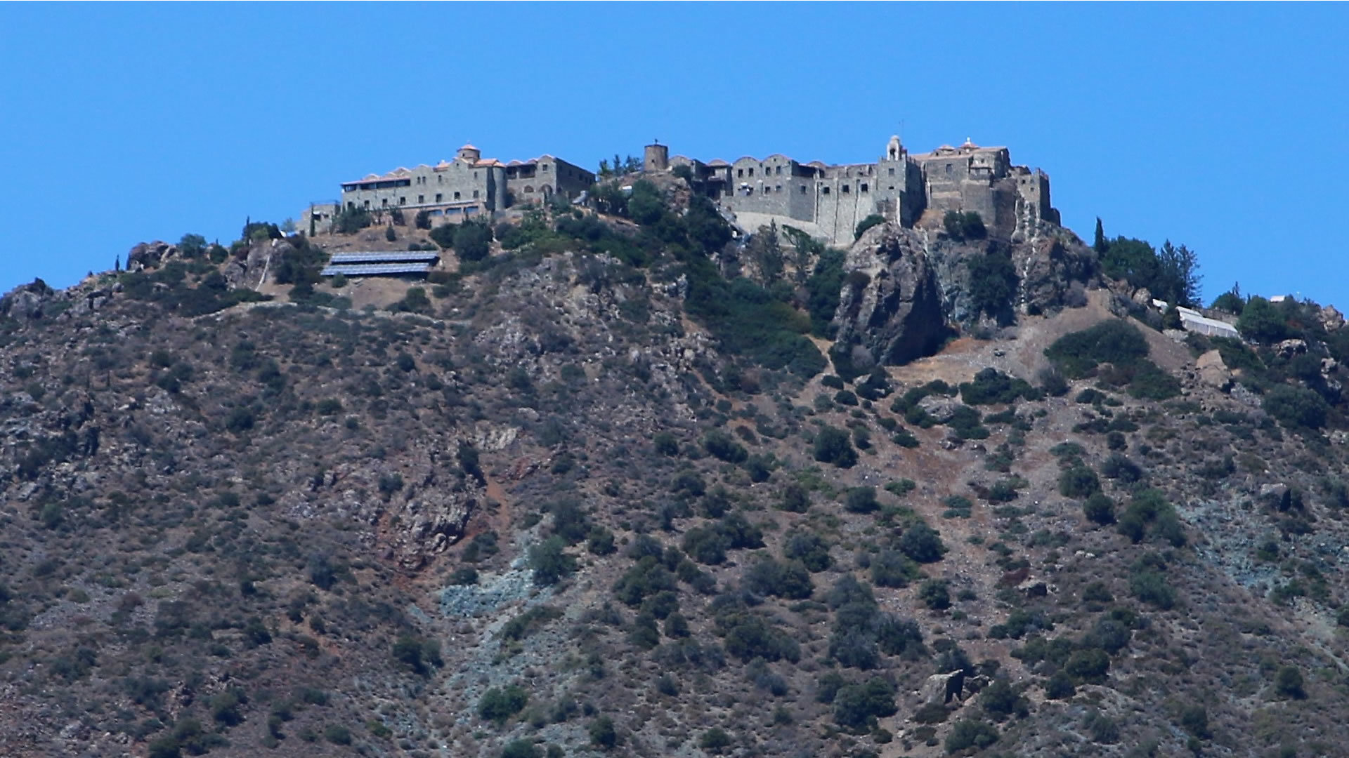 The monastry on the hill