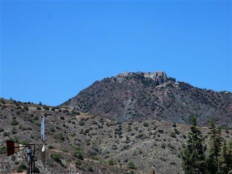 Stavrovouni on the mountain top
