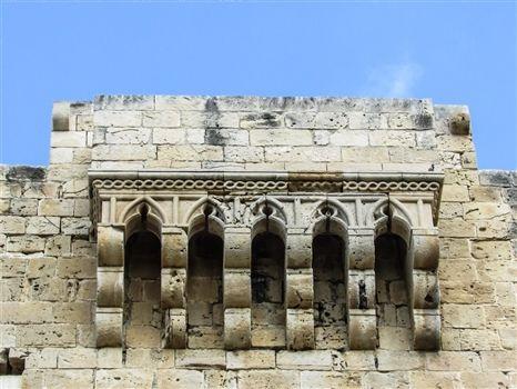 Kolossi caste entrance structure