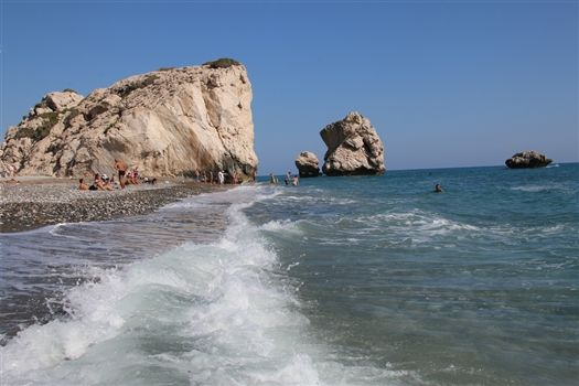 Aphrodites rock cyprus
