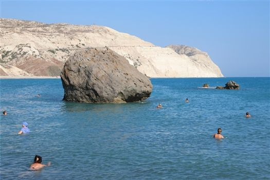 Swim around Aphrodites Rock
