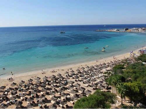 Makronissos Blue Flag Beach