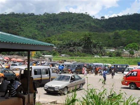 Kpeve Tro Tro station, Ghana