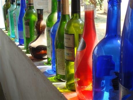 Cedi Beads - Glass bottles