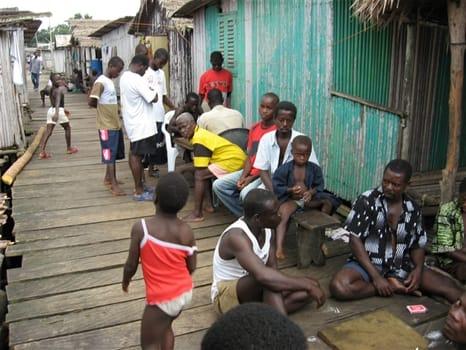 Social life in Nzulezu