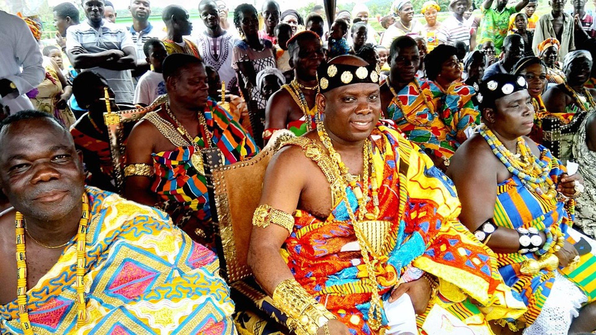 Ashanti chief Kumasi Ghana
