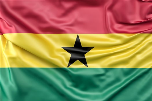 Who was the woman behind Ghana's Flag?