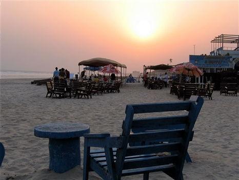 Sunset at Labadi