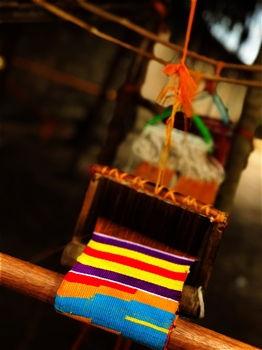 Kente loom tradition