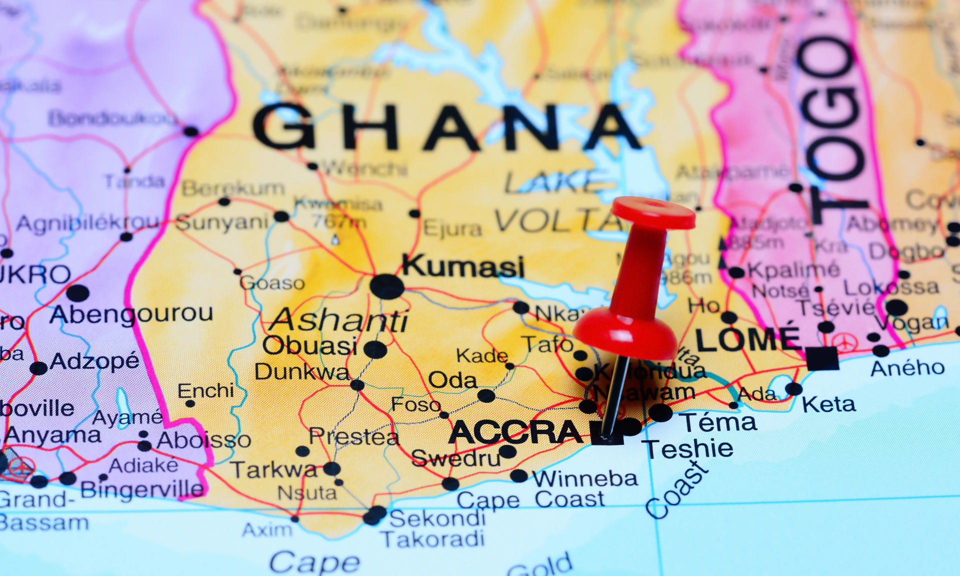 Ghana discovery