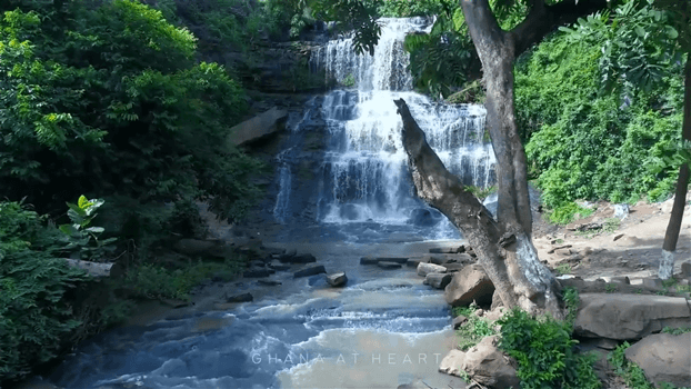 Ghana at Heart - Waterfalls