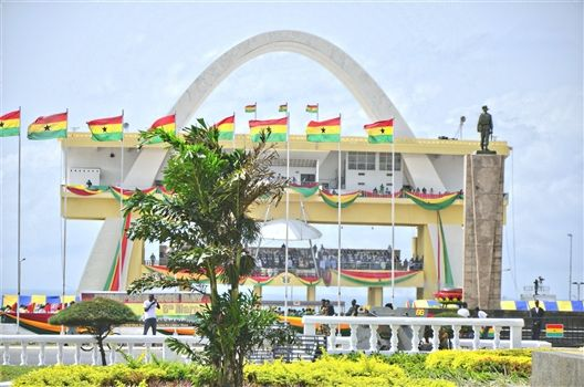 Independence Square in Ghana