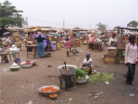 Market in Tamale
