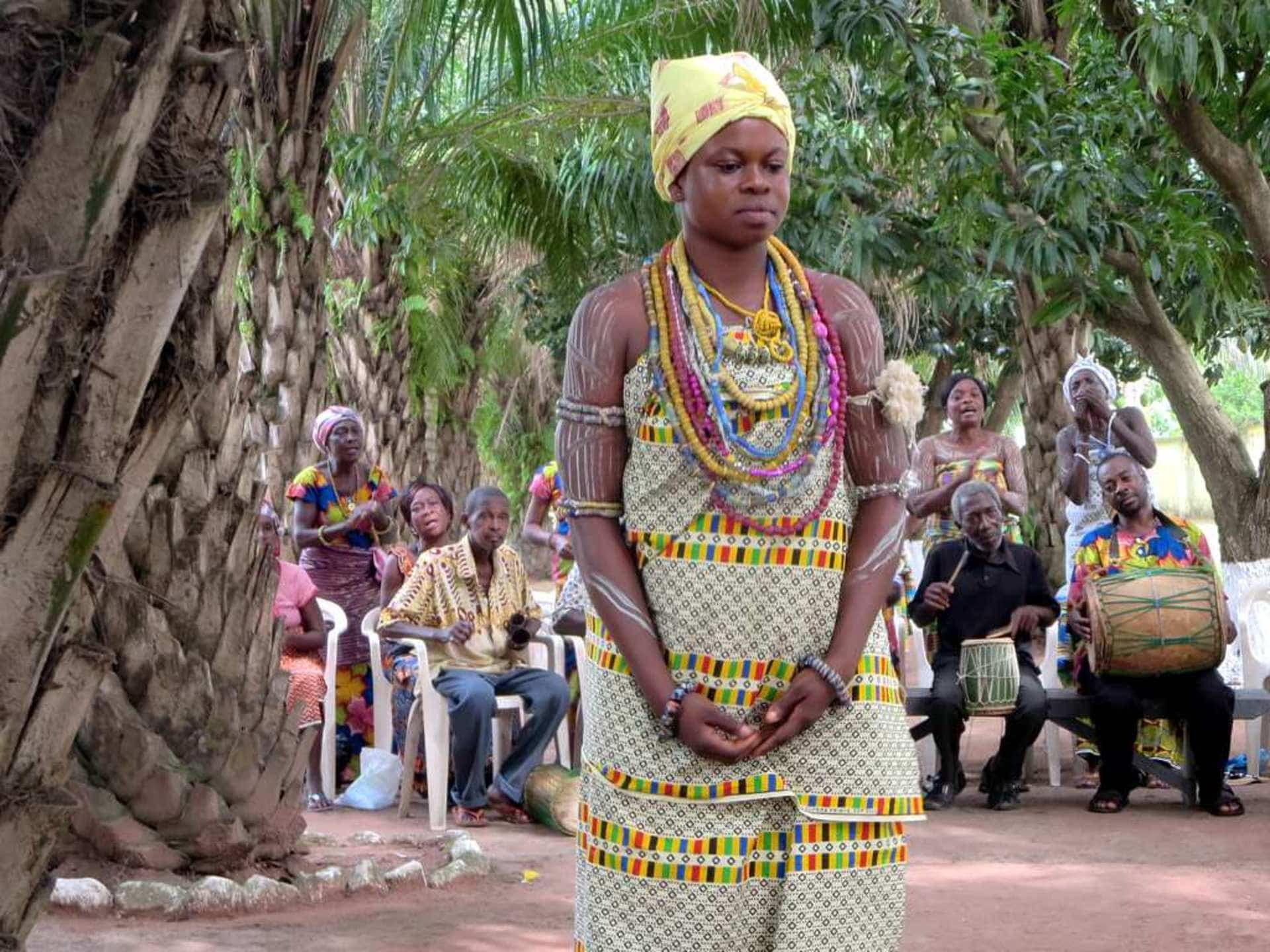 Woman at Odumase Krobo