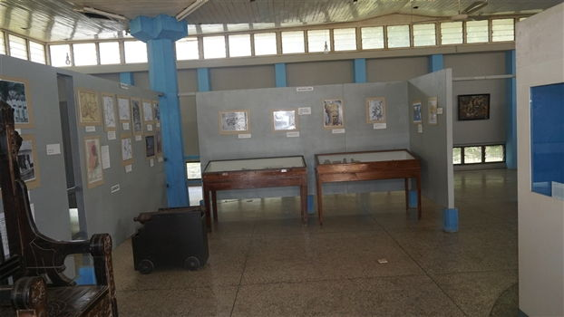 A side shot of the volta regional museum