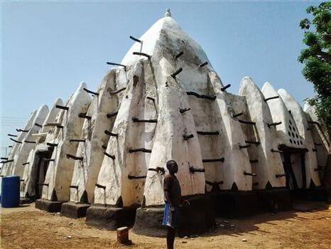Larabanga Mosque - Sideview