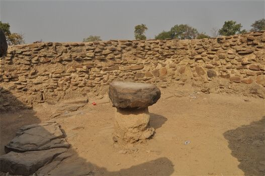 Mystic Stone near Larabanga Mosque