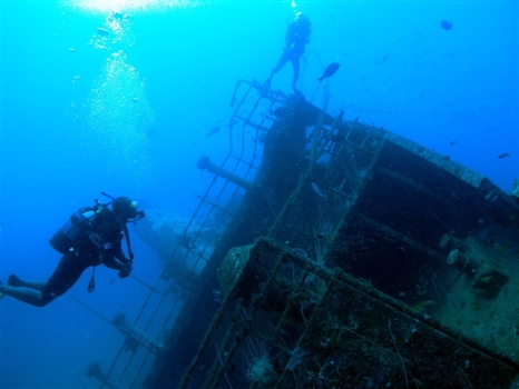 MV Dania - Quarterdeck