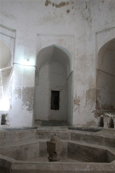 Pool - Inside the Hamamni Baths