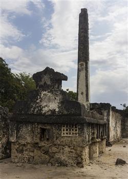 Minarett at Kaole