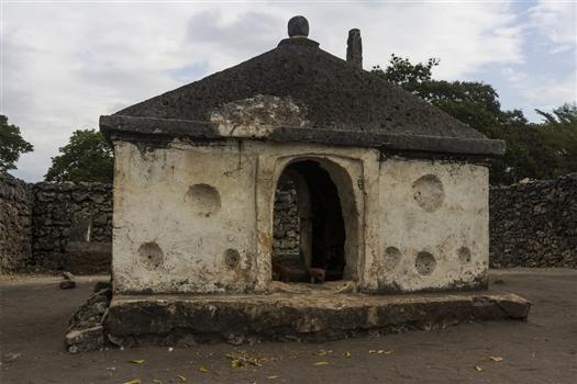 Mausoleum at Kaole